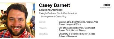 Casey P Barnett on LinkedIn