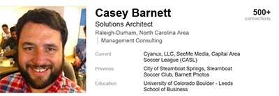 Casey P Barnett on LinkedIn